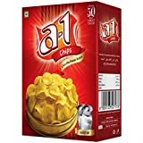 Bhavani Foods A1 Chips Mc - Banana Chips Ultra Thin Wafers ( Pack of 2 )
