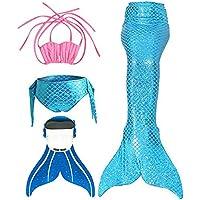 3STEAM SPEEDEVE Coda di Sirena per Ragazze Costume da bagno