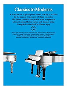 Classics To Moderns Book 2. Partitions pour Piano