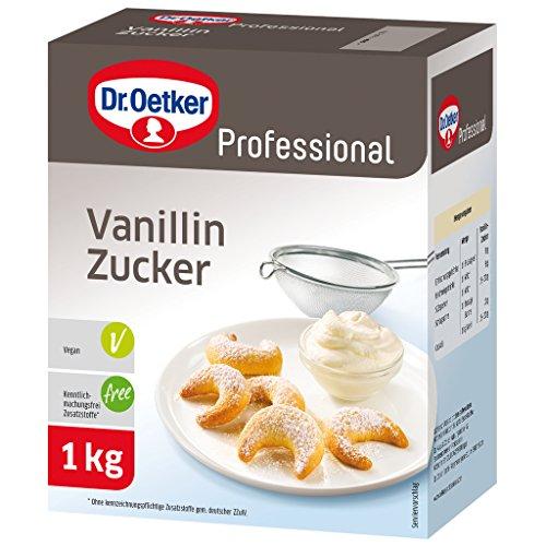 Dr. Oetker Professional Vanillin-Zucker, 1er Pack (1 x 1 kg)