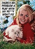 Es Keine Problem eine Play mit My Pussy nicht Fix Funny Geburtstagskarte