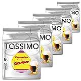 Tassimo Cappuccino Gout Caramel CARAMBAR - 5 Packungen - 40 Getränke