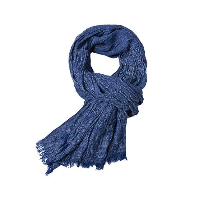 b51ec61dd0c5 Topdo Écharpe en Cachemire de la Mode des Hommes écharpe Foulards Chauds  d automne et ...