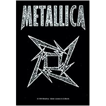 Official personalizada Banda–Póster de Metallica Bandera