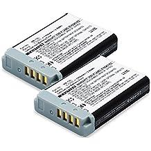 CELLONIC 2x Batería premium para Canon PowerShot G7 X (Mark II), G9 X (Mark II), SX720 HS, SX730 HS, G5 X, SX620 HS (1010mAh) NB-13L bateria de repuesto, pila reemplazo, sustitución