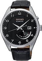 Seiko Reloj Analógico Automático para Hombre con Correa de Cuero – SRN051P1 de Seiko