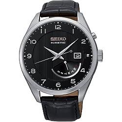 Seiko Men's Automatic Watch Analogue XL Leather SRN051P1