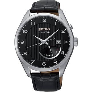 Seiko Reloj Analógico Automático para Hombre con Correa de Cuero – SRN051P1