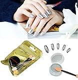 Best So Beauty gel vernis à ongles - Nail Powder,Moonuy DIY ongles en poudre miroir en Review