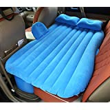 RUIRUI-Coche durmiente de la cama inflable colchón recorrido trasero coche SUV alfombrillas , blue