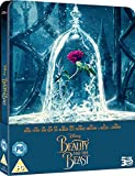 Beauty and The Beast Steelbook 2017 Uk Steelbook 3D Includes 2D Version Exclusive Limited Edition Steelbook Blu-ray Region free