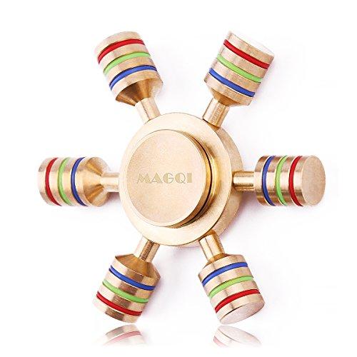 fidget-mano-spinner-doro-edc-giocattolino-antistress-nottilucente-100-in-ottone-lucido-sei-ali-minor