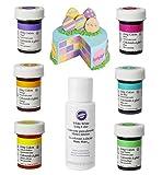 Wilton Lebensmittelfarben im Oster-Set 7 verschiedene Farben