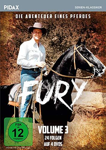 Fury - Die Abenteuer eines Pferdes, Vol. 3 / Weitere 24 Folgen der Kultserie (Pidax Serien-Klassiker) [4 DVDs]