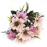 Joylive 6ramas 10cabeza ramo de flores artificiales