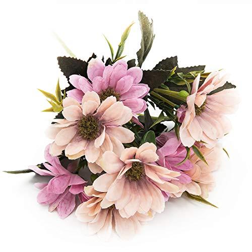 Joylive 6ramas 10cabeza ramo flores artificiales