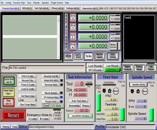 Mach3 - CNC Steuerungssoftware für PC