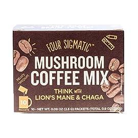 Four Sigma Foods Mushroom Coffee Lions Mane 10 sachets