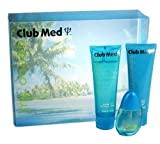 Club Med My Ocean By Coty For Women. Gift Set