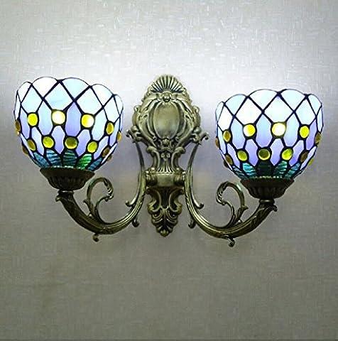 Vitrail des lampes chambre hôtel mur miroir de la lampe avant chambre de salon de mur lampe enfants