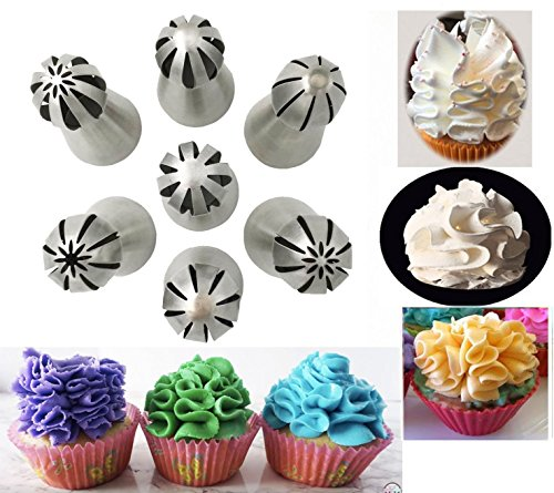 yookay-russian-icing-nozzles-set7pcs-stainless-steel-sphere-ball-piping-tips-for-diy-cookie-cream-ca