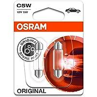 OSRAM Original 12V C5W lampes halogènes auxiliaires 6418-02B en double blister