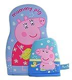 Joy Toy Guanti in Spugna Peppa Pig per Il Bagnetto