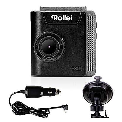 Rollei-Dashcam-402-mit-GPS-und-G-Sensor-Rechtskonforme-Autokamera-vorne-1080p-Full-HD-Auto-Kamera-zur-berwachung-und-Parkberwachung-Dash-Cam-Video-Registrator-mit-Loop-Funktion