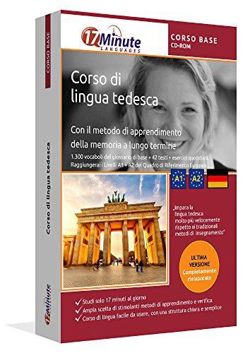 Corso di tedesco per principanti (A1/A2): Software per Windows e Linux. Imparare la lingua tedesca con il metodo della memoria a lungo termine
