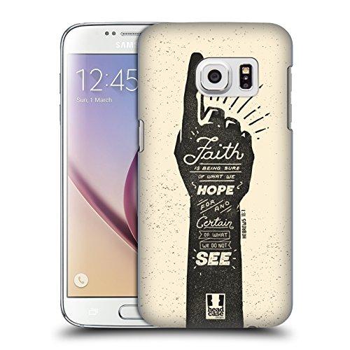 Head Case Designs Glaube Biblische Vintage Schilder Ruckseite Hülle für Samsung Galaxy S7