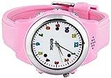 Enox Safe-Kid-One ROSA Kinderuhr Smartwatch GPS Live Tracker Peilsender Micro SIM Karten Einsatz Anruf SOS Funktion GEO-Zaun Kinder Telefon - 3