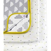 Snuz para cuna juego de cama–nube nueve impresión (Fits SnuzPod y Chicco Next2Me)