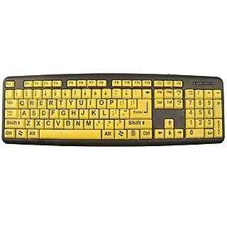 EZ Eyes Keyboard for Children and Eldery
