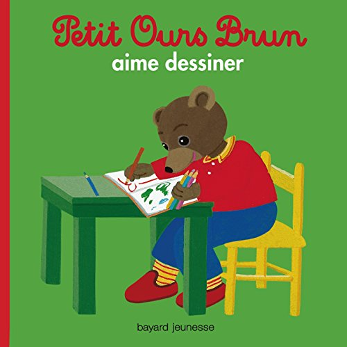 PETIT OURS BRUN AIME DESSINER par Marie Aubinais