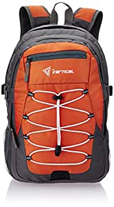 The Vertical Hickory Orange Casual Backpack (VR/HIC10RK/PRO2015)