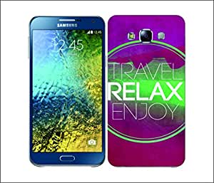 Galaxy Printed 2889 Summer Relax Hard Cover for Samsung GRAND Prime