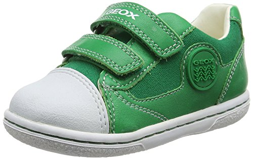 Geox Baby Jungen B Flick Boy C Sneaker, Grün (GREENC3000), 24 EU