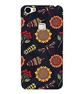 ifasho Designer Back Case Cover for Vivo X7 Plus (Tribal Design Hongkong China Tumkur)