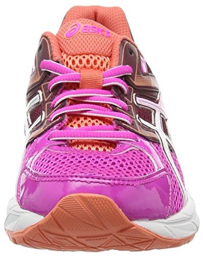 Asics Gel-contend 3, Damen Laufschuhe Pink (pink Glow/white/royal Burgundy 3501)