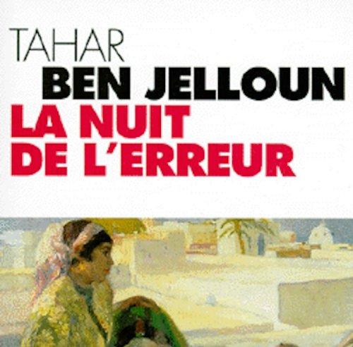 La Nuit de l'erreur (coffret 9 CD) par Tahar Ben Jelloun