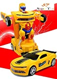#5: Supertoy Robot To Car Converting Transformer Toy For Kids