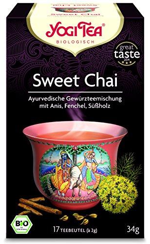 Yogi Tea Sweet Chai Bio, 3er Pack (3 x 34 g)