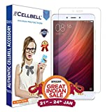 #10: CELLBELL® Xiaomi Redmi Note 4 Tempered Glass Screen Protector With FREE Installation Kit