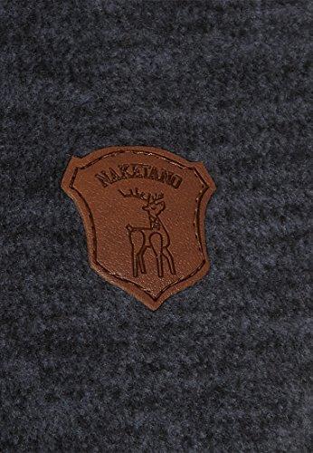 Naketano Female Zipped Jacket Dreisisch Euro Swansisch Minut Dirty Indigo Blue Melange