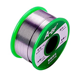 A-BF 0.8mm 100g Lead Free Solder Wire Sn99.3 Cu0.7 for Welding Soldering DIY Repair Working