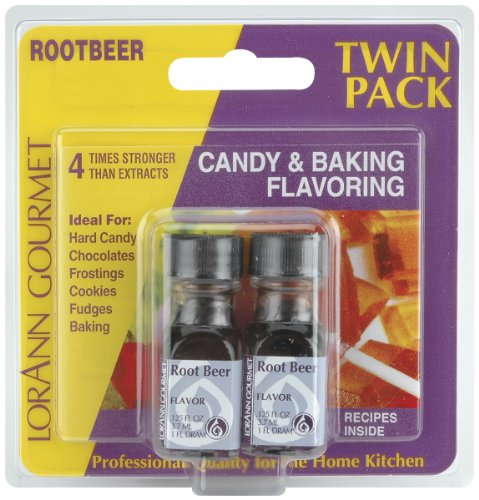 LorAnn Candy & Baking Flavoring .125oz 2/Pkg-Root Beer -