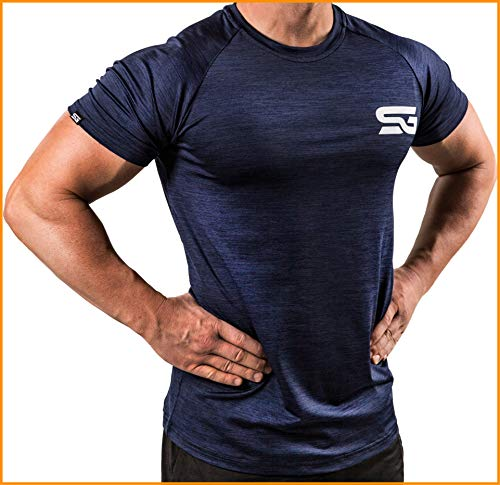 Satire Gym T-Shirt Fitness pour Homme - vêtement de Sport...