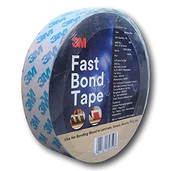 3M 3MFBT Fast Bond Tape, 1 Roll of 30 mm x 20m