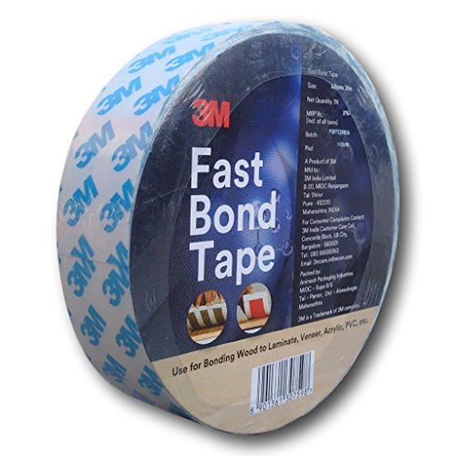 3M 3MFBT Fast Bond Tape, 1 Roll of 30 mm x 20m