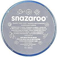 Snazaroo - Colori Pittura per il Viso, Grigio Scuro, 18 ml
